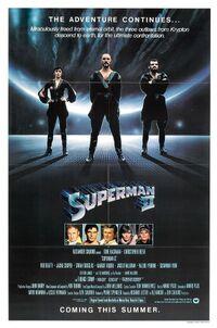 Superman 2 poster