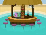 Playa De Losers tiki bar by cjl1217