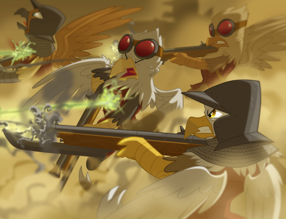 Griffon Gunners Twed Unit Total War Equestria Divided Wiki