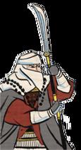 Placeholder - ashigaru inf naginata warrior monks