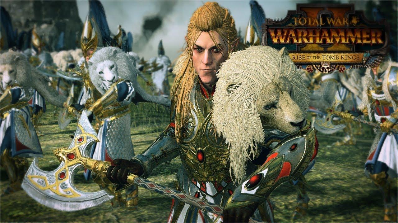 Alastar, The White Lion   Total War: Warhammer 2 Viki