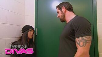 Alicia Fox confronts her ex-boyfriend, Bad News Barrett Total Divas, February 15, 2015-0