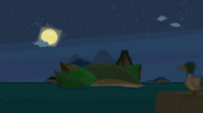 Chiphoko island night