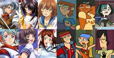 Seito High School with contestants