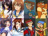 Seito High School with contestants: