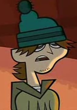 Ezekiel, the first loser on Total Drama Island