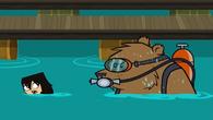Scuba gear bear