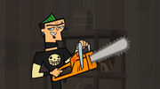Duncan With A Chainsaw this can't be good