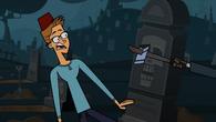 Tom wins a scare