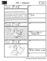 Total Drama Action theme song storyboard (27)