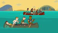 Alejand-row tour canoe