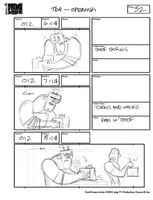 Total Drama Action theme song storyboard (34)