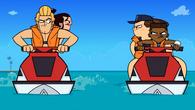 Cadets VS Dancers Boat Race