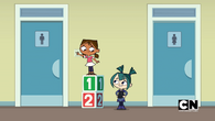 Gwen's favorite game.. bullying the kids