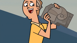 Dwayne With Fossil