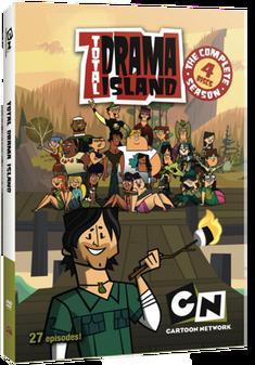 Total Drama Island DVD