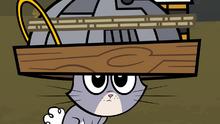 Bunny helmet of evil