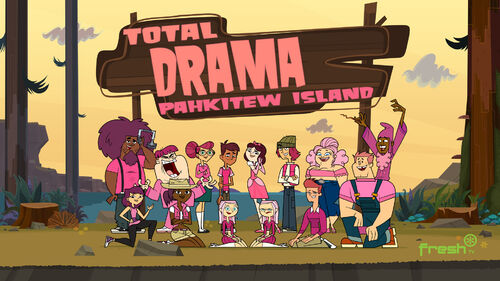 Total-drama-pahkitew-island-pink-poster