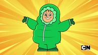 Owen's snowsuit