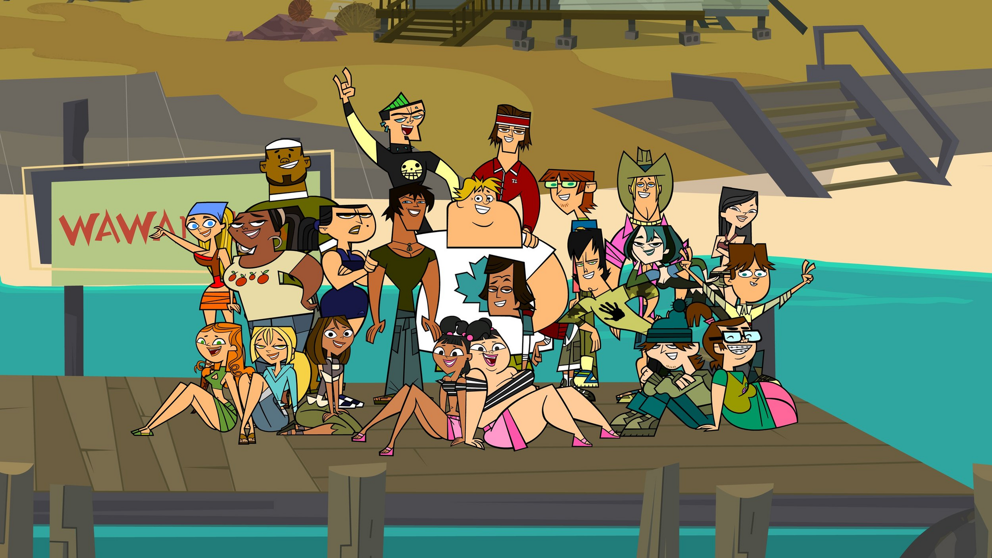 Image result for total drama island
