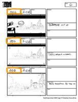 Total Drama Action theme song storyboard (8)