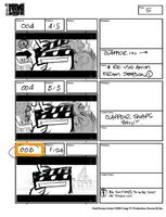Total Drama Action theme song storyboard (7)