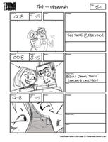 Total Drama Action theme song storyboard (23)