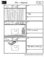 Total Drama Action theme song storyboard (32)