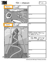 Total Drama Action theme song storyboard (13)