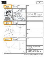 Total Drama Action theme song storyboard (10)