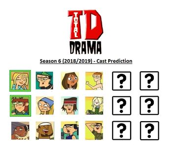 Total drama season 6 2018 2019 cast prediction