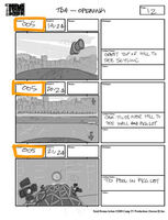 Total Drama Action theme song storyboard (14)