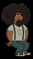 Beardo sentado oficial