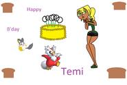 Happy birthday Temi