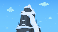 Icy mountain
