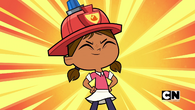 Courtney fire fighter again