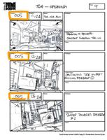 Total Drama Action theme song storyboard (11)