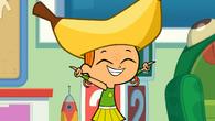 Izzy banana hat