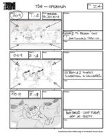 Total Drama Action theme song storyboard (26)