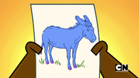 Owen's donkey drawing