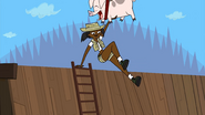 Climbing monster