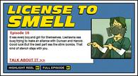 LicenseToSmell