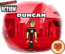 Duncan Total Drama Action