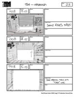 Total Drama Action theme song storyboard (25)