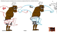Chef jump sketch