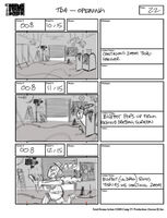 Total Drama Action theme song storyboard (24)