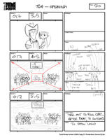 Total Drama Action theme song storyboard (53)