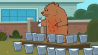 How to milk a bear