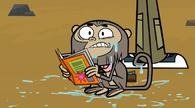 Puked monkey