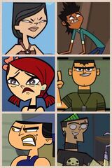Total Drama Action (my cast, my drama)